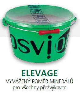 Minerální liz BIO TOPLICK Osvior ELEVAGE melasový pro koně, dobytek, ovce a kozy 20 kg