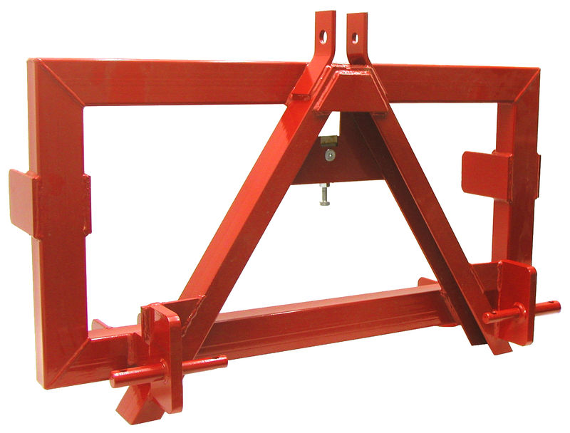 Tříbodový adaptér pro EURO-normu kat. 2