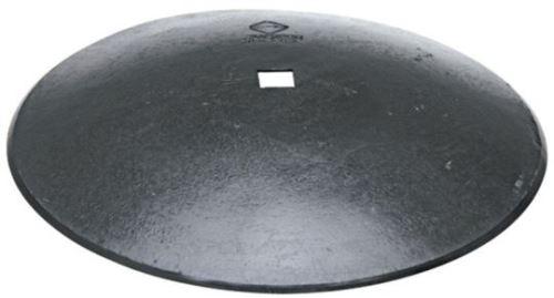 Hladký disk diskové brány k montáži na čtyřhrannou hřídel průměr D=660 mm