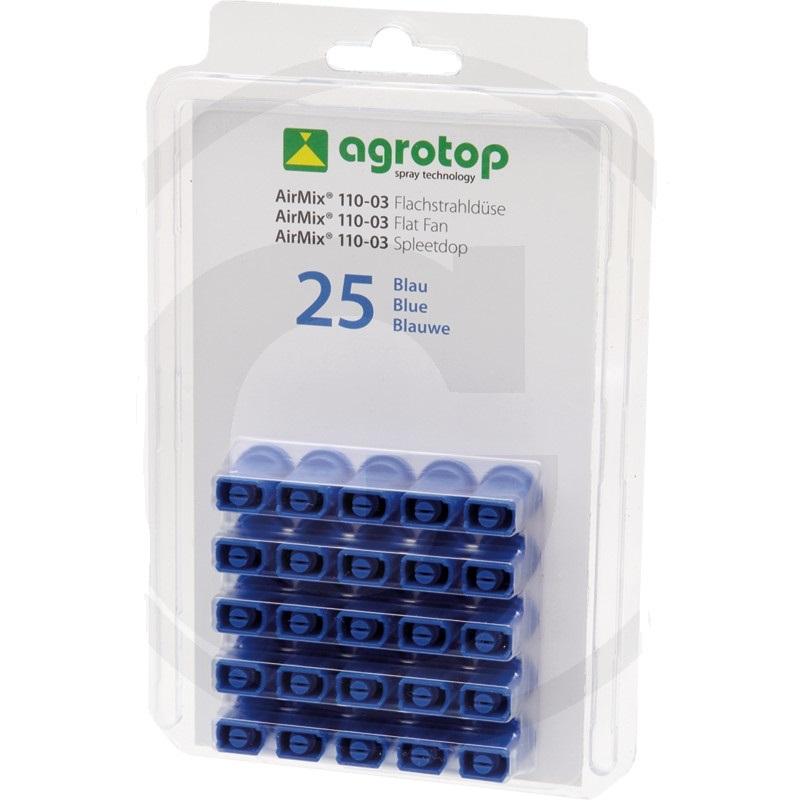 Agrotop AirMix injektorová tryska 110° plastová modrá balení 25 ks