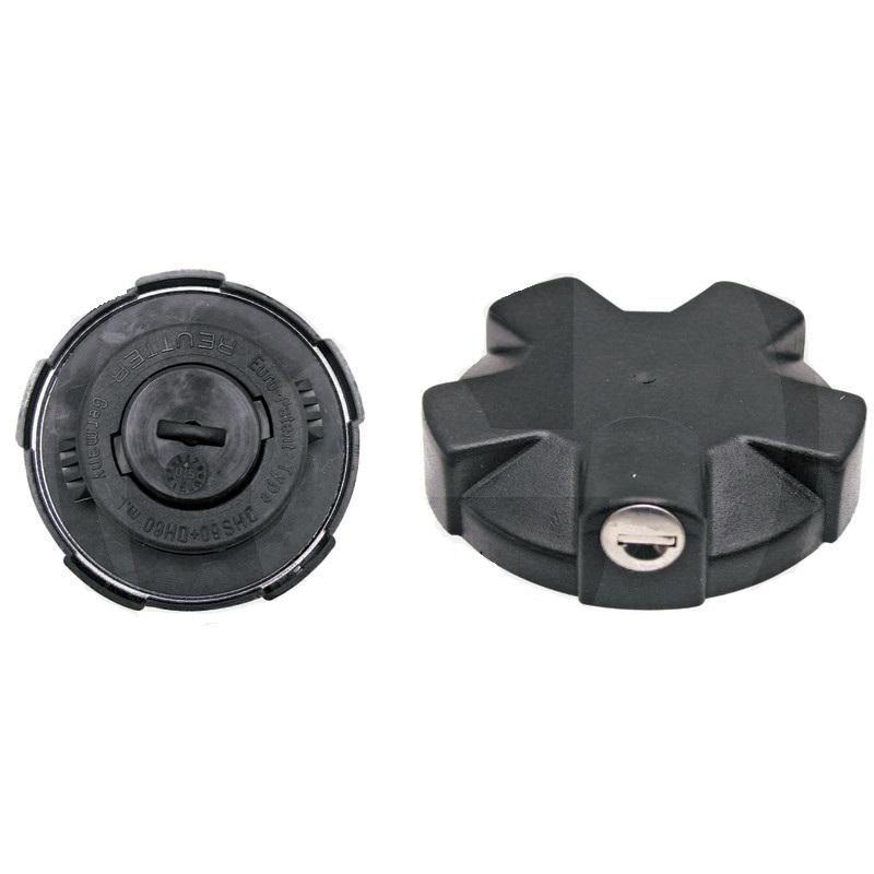 Uzávěr palivové nádrže pro Case IH, Steyr hrdlo nádrže průměr 83 mm uzamykatelný