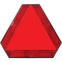 Varovný trojúhelník pro pomalu jedoucí vozidla a přívěsy hliníkový na levou stranu