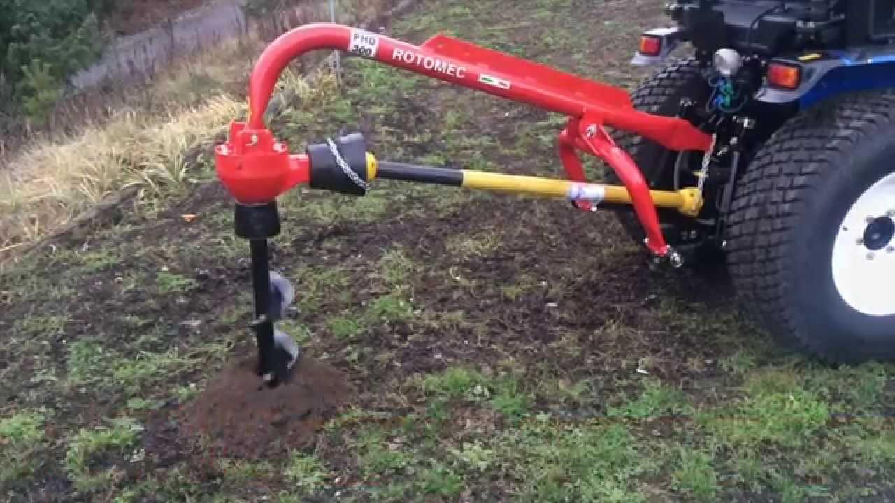 Hydraulický přítlak pro půdní vrták za traktor ROTOMEC 200