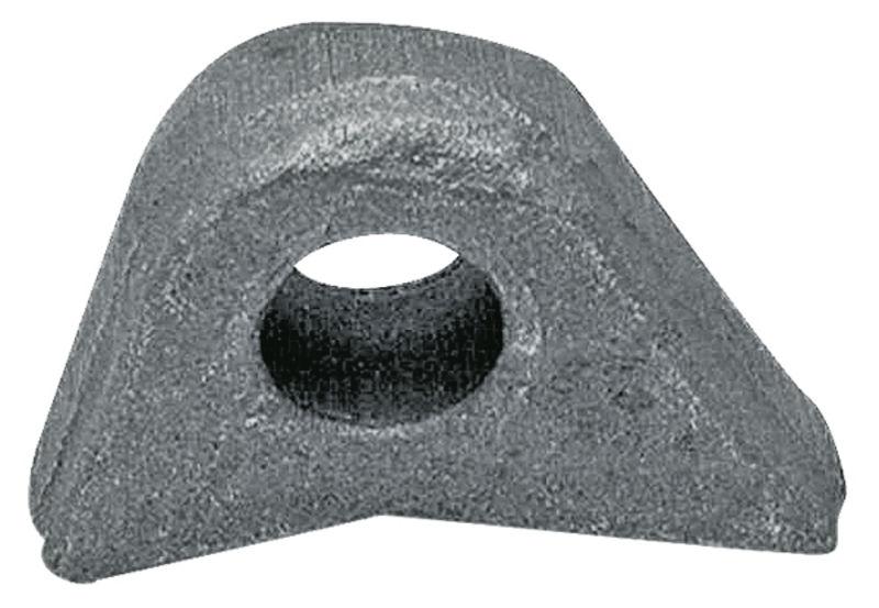 Navařovací vazební oko pro EURO úchyt na čelní nakladač EURO-NORM rozměry 85 x 60 mm
