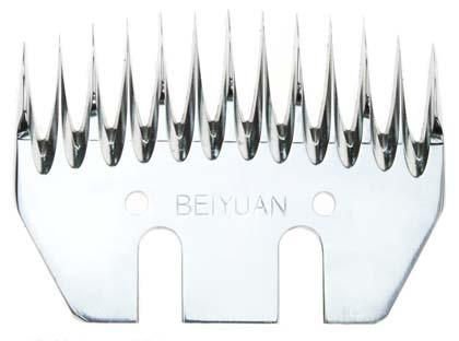 Beiyuan Alpaca Standard spodní nůž na stříhání alpak, 13 zubů, šíře 77 mm