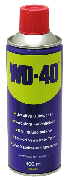 Univerzální sprej mazivo WD-40 400 ml
