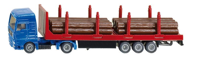 Siku – kamion na přepravu dřeva 1:87