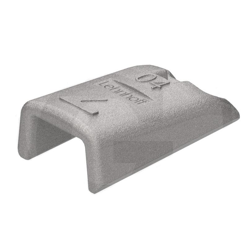 Držák zubu Lehnhoff vhodný pro lopaty nakladačů a lžíce bagrů konstrukční velikost 404F