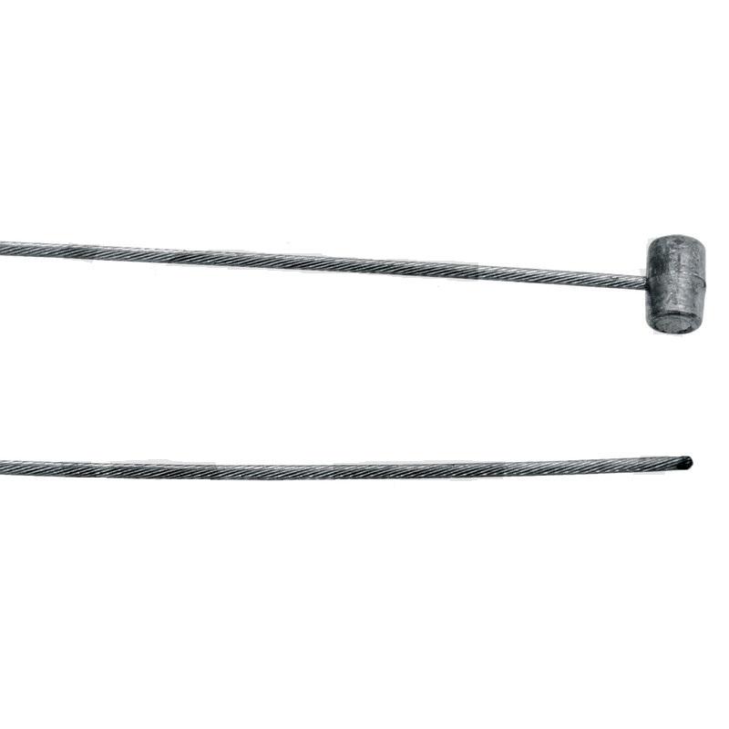 Flexibilní lanko 2000 mm 1,8 mm univerzální pro zahradní sekačky zakončené válečkem