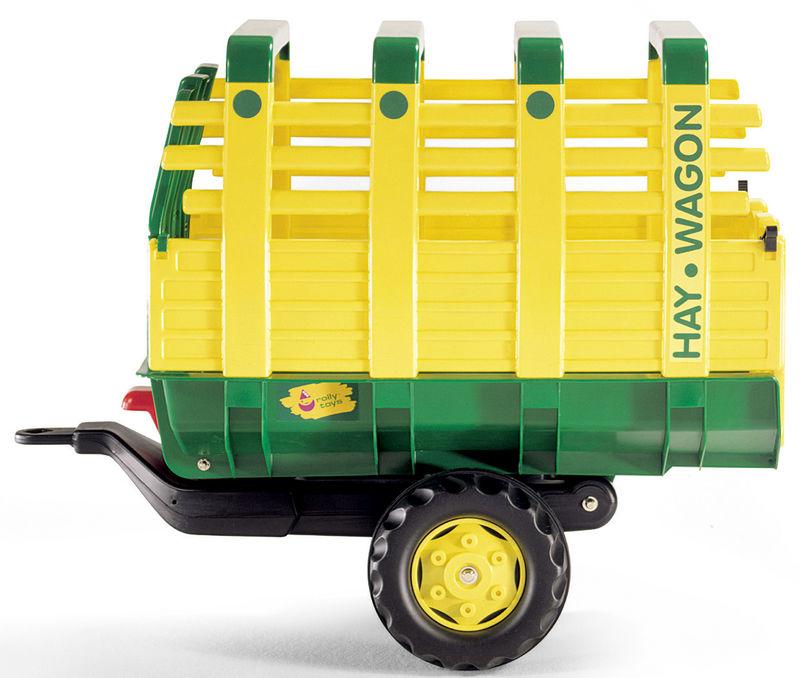 Rolly Toys – vůz na seno žlutozelený