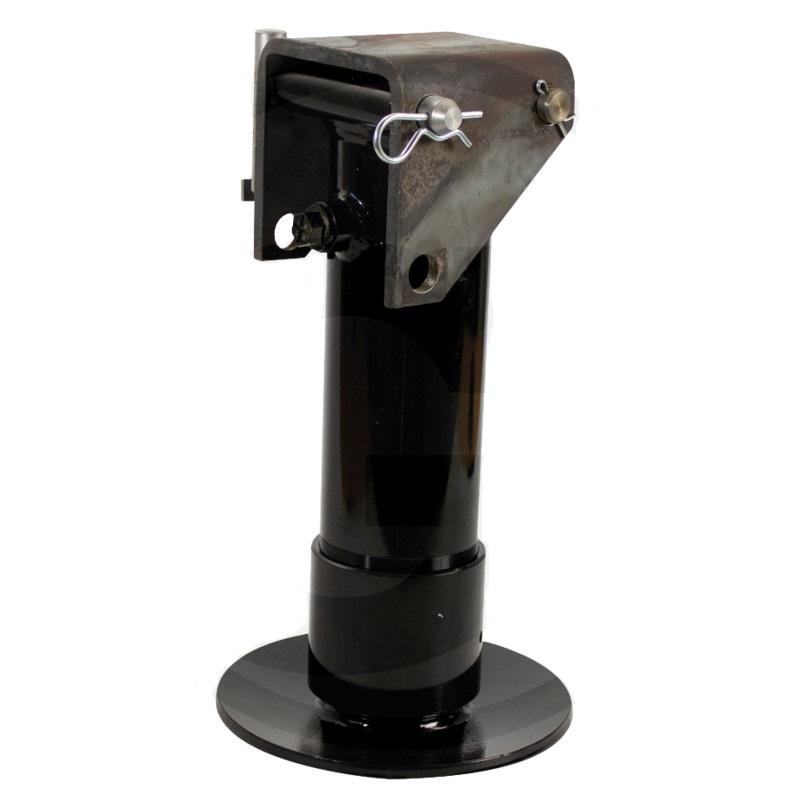 Opěrná noha hydraulická jednočinná na vlek s vratnou pružinou