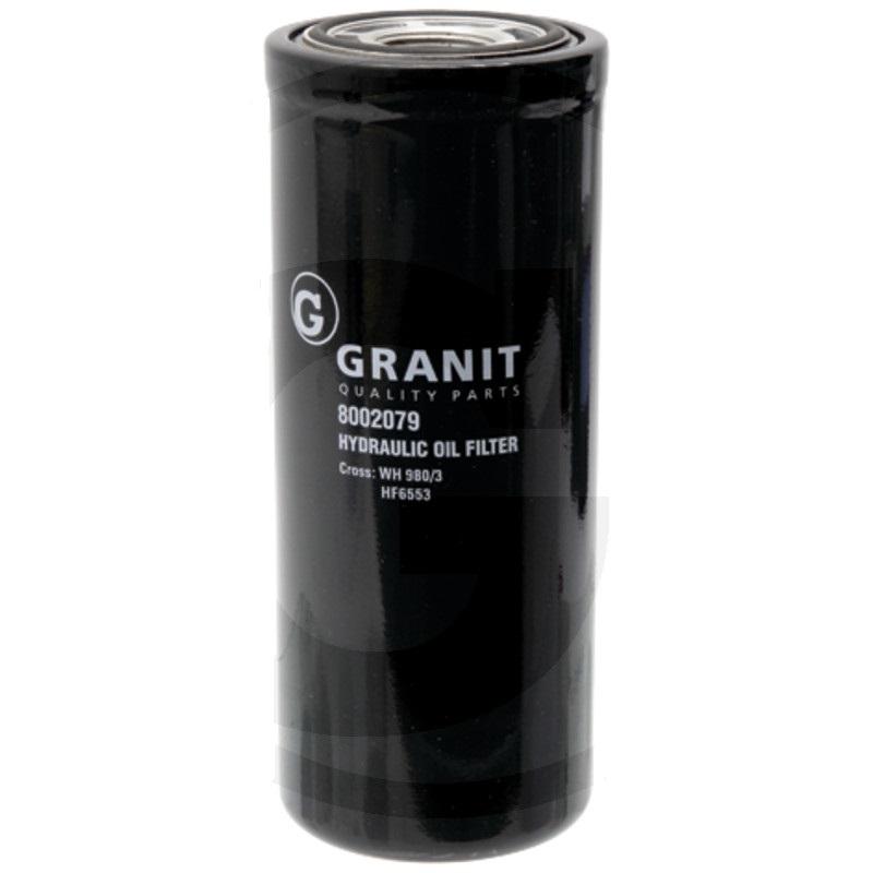 Granit 8002079 filtr hydraulického/převodového oleje vhodný pro Fiat, Ford, John Deere