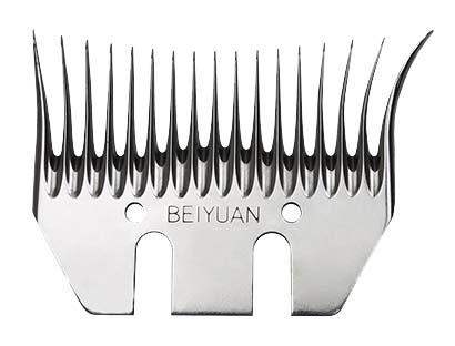 Beiyuan Mohair spodní nůž na stříhání mohérových koz, šířka 91 mm, úkos 3,5 mm