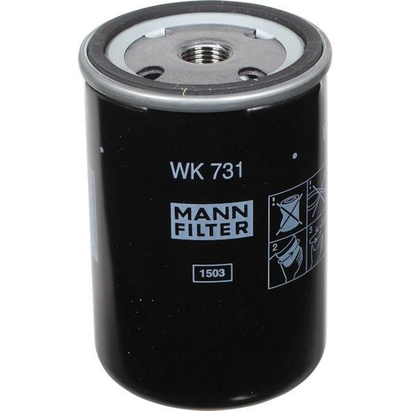 MANN FILTER WK731 palivový filtr vhodný pro Claas, Deutz-Fahr, Fendt, Fiat, Kramer