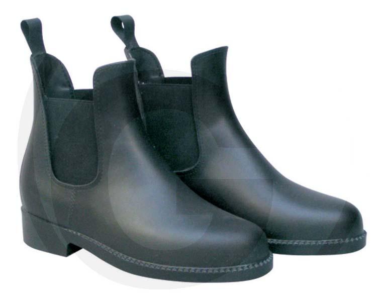 Nízké jezdecké boty – gumová jezdecká perka