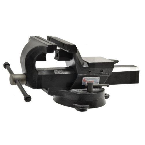 Dílenský svěrák paralelní 154 mm Granit BLACK EDITION s čelistmi na trubku