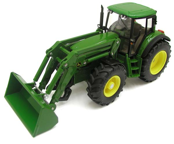 Siku – traktor John Deere 6820 s čelním nakladačem 1:32