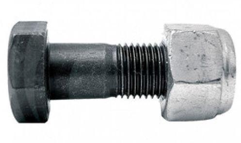 Šroub s maticí M14 x 1,5 x 35 mm na hřeby rotačních bran, frézovací nože pro Accord, Krone