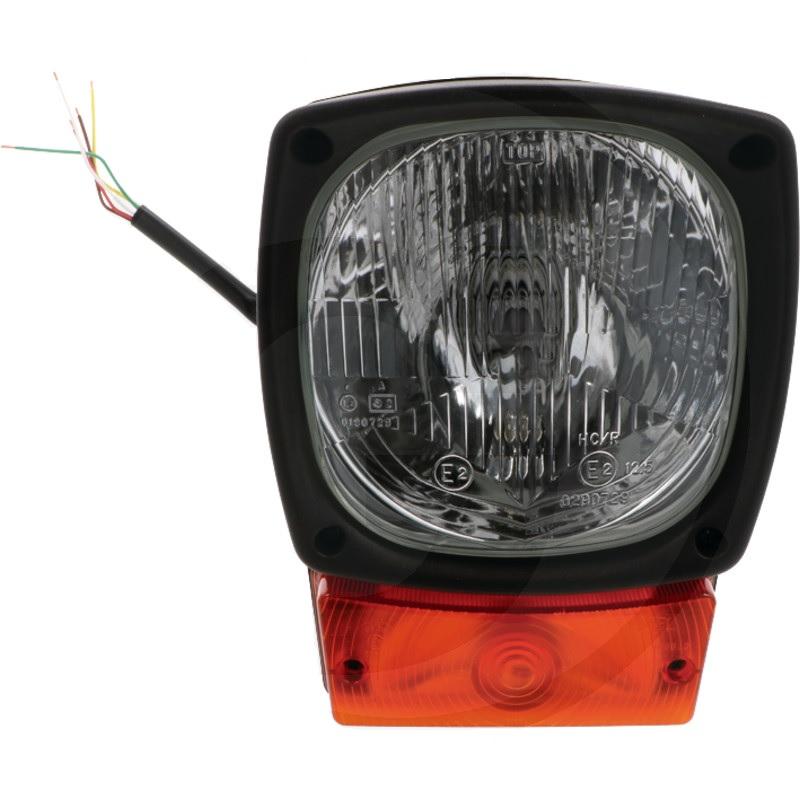 Pracovní světlo a směrové světlo na vysokozdvižné vozíky VZV ABL napětí 12-24 V