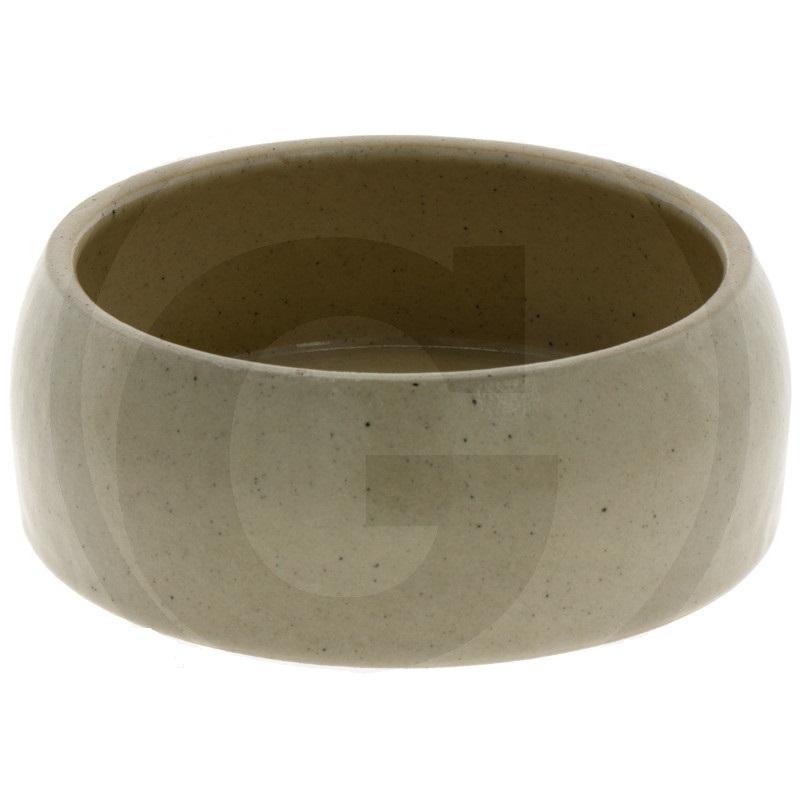 Keramická kameninová miska 500 ml na krmivo pro králíky, psy, kočky