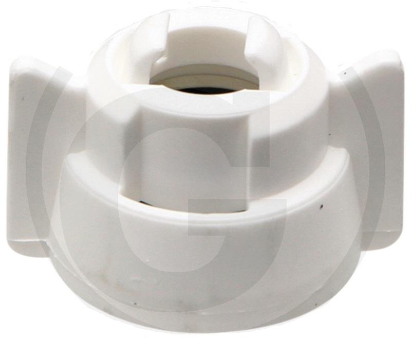 ARAG bajonetová matice bílá SW 8-10 mm univerzální kryt trysky pro většinu trysek na trhu