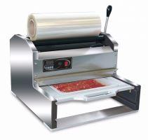 Zatavovací balička hotových jídel HORECA PACKMATIC 400 poloautomatická do misek
