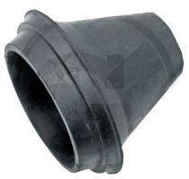 Gumová tryska průměr 100 mm s lemem pro rozstřikovače kejdy Exakt pro fekální vozy