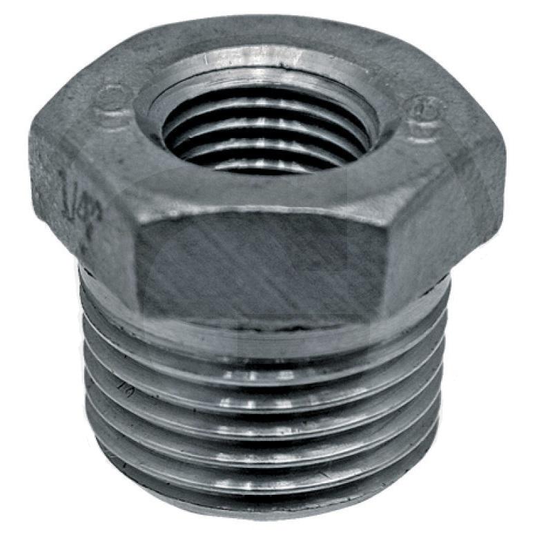 Přechodka, redukce z 1/2″ na 1/4″ pro vakuový tlakoměr pro fekální vozy