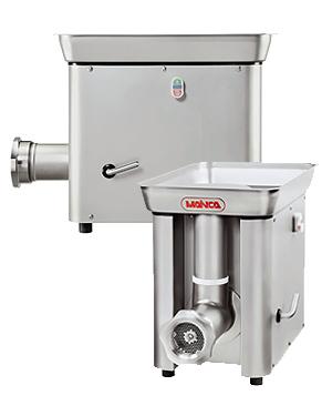 Řeznický mlýnek na maso elektrický MAINCA PC 98 jednofázový motor 800 kg/hodina