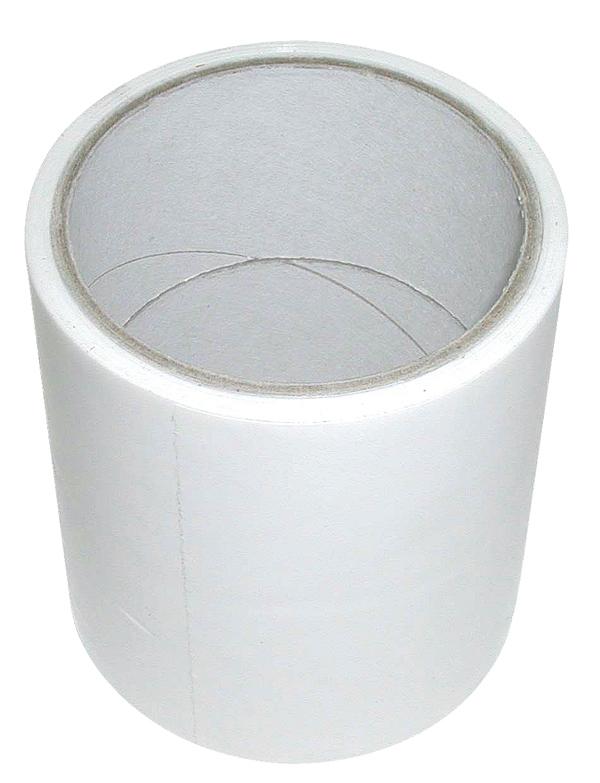 Lepící opravná páska na senážní, silážní fólie a plachty bílá šířka 100 mm délka 25 m