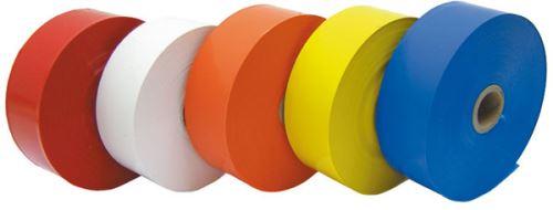 Lesnická značkovací páska z polyetylénu barva červená