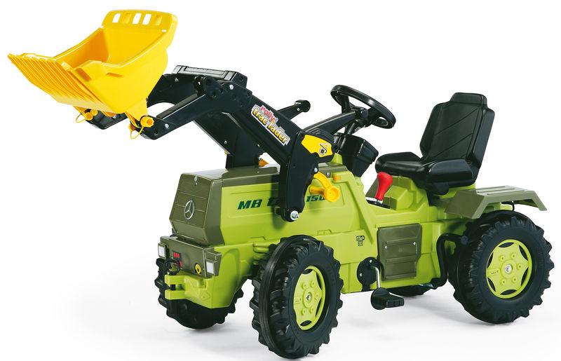 Rolly Toys - šlapací traktor MB Trac 1500 s dvojstupňovým převodem a brzdou