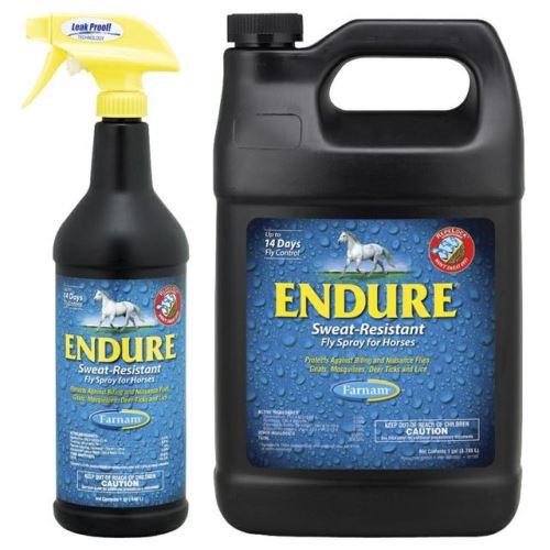 FARNAM Endure Fly Spray 3,78 l repelent pro koně