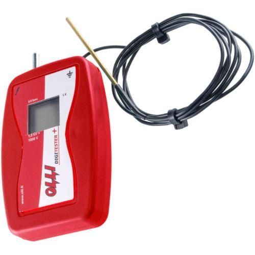 Digitester Plus Olli s digitálním displejem pro měření napětí v elektrickém ohradníku