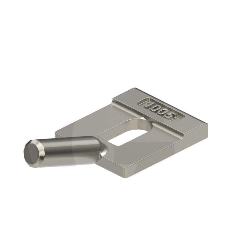 Zajištění zubu Lehnhoff pro lopaty nakladačů a lžíce bagrů konstrukční velikost 404F