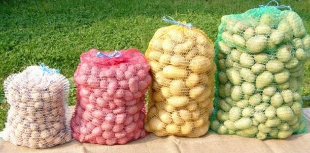 Rašlový pytel 35 x 50 cm (5 kg) balení 100 ks na brambory, zeleninu a ovoce bez úvazku