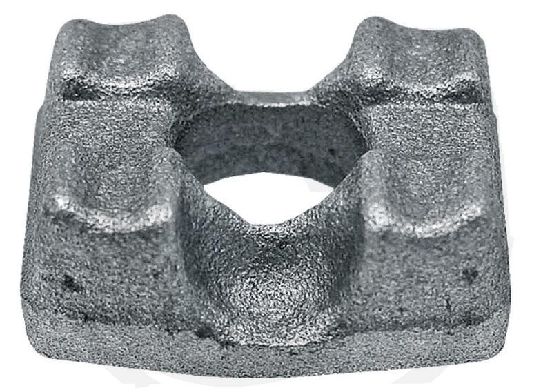 Svorka šroubu rozmetadla hnoje Mengele průměr díry 8 mm řetěz 8 x 31 mm
