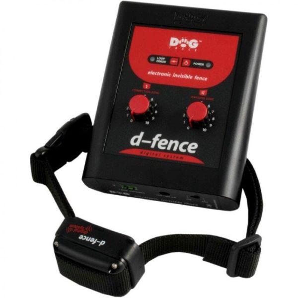 Elektronický ohradník pro psy d-fence 1001 pro instalaci 300-1200 m bez anténního drátu