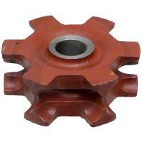Řetězka na rozmetadlo hnoje Mengele tvar B řetěz 8x31 mm 5 zubů děrování 40 drážka 10 mm