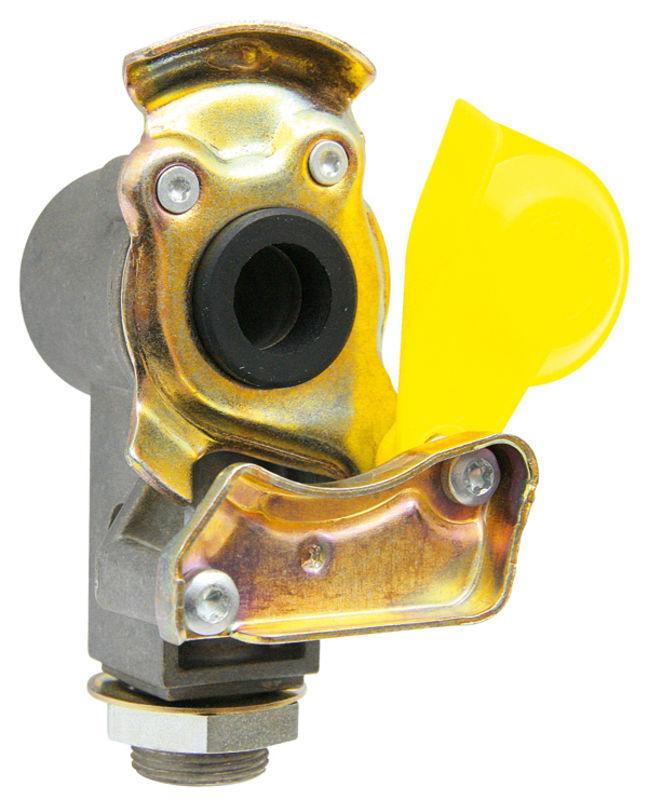 Hlava spojky Wabco pro návěs žlutá