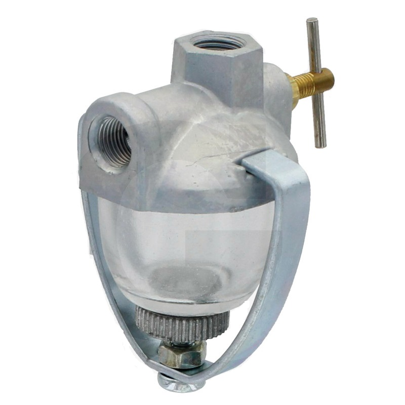 Palivový filtr skleněný pro motory Briggs & Stratton, Kohler, Tecumseh