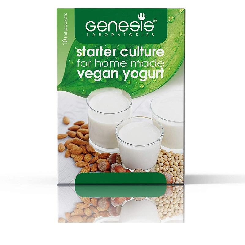 Jogurtová vegan kultura Veganský jogurt 10 sáčků, 1 sáček na 1 l sojového mléka