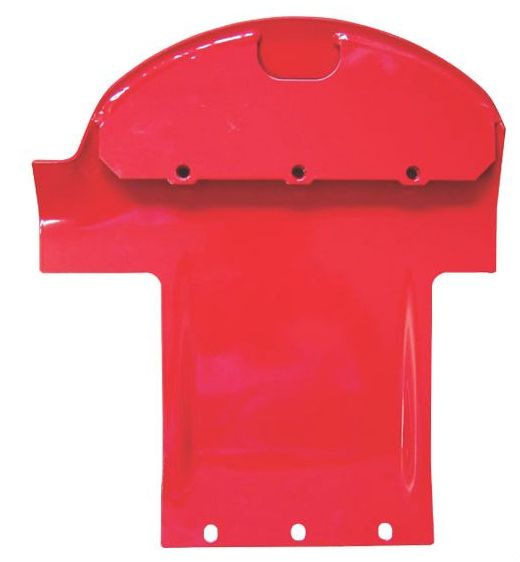 Skluznice, splaz pravý žací lišty diskové sekačky Pöttinger Novacat