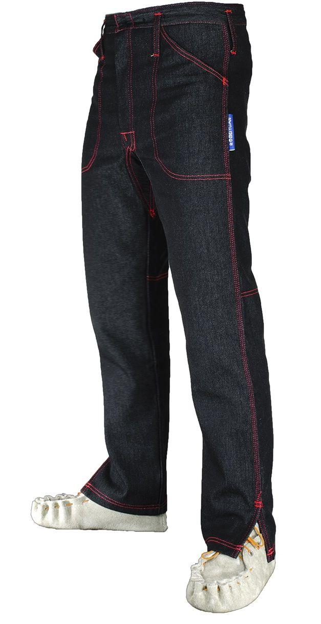 Kalhoty pro střihače ovcí s 2 předními kapsami