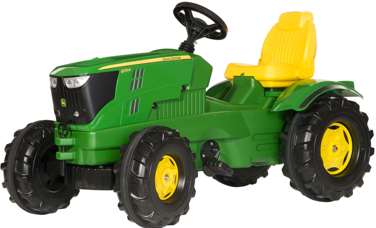 Rolly Toys - šlapací traktor John Deere 6210 R modelová řada Rolly FarmTrac