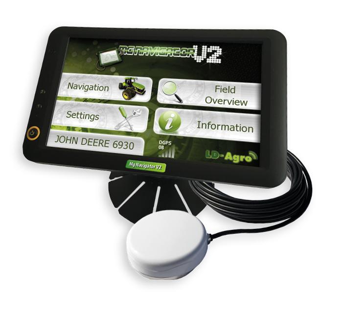 LD-AGRO NAVIGATOR V2 satelitní navigace GPS pro traktory a zemědělské stroje