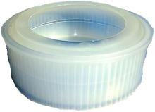 Forma na lisování polotvrdého sýra FB 08 350 g třídílná