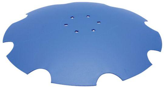 Ozubený disk diskové brány pro Lemken Rubin průměr 620 mm, tloušťka 6 mm, průměr 12,5 mm