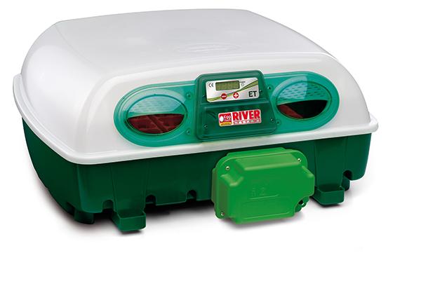 Automatická digitální líheň na kuřata, drůbež EGG TECH ET 49 s dolíhní a motorem - použitá