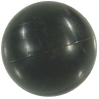 MZ plováková koule průměr 80 mm do sifonů MZ 0160, MZ 0240, MZ 0241 z umělé hmoty